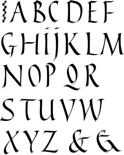 Assez 20 best Old Style Calligraphy images on Pinterest | Calligraphy  DG35