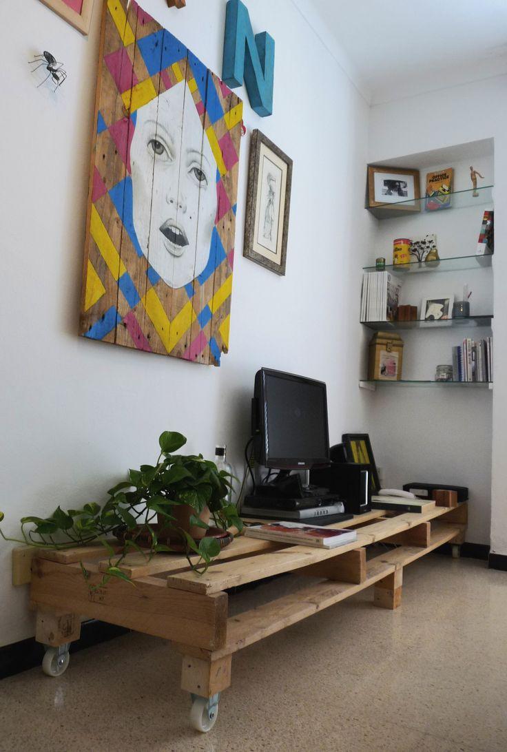 80 best reciclaje de pal s pallets recycling images on pinterest home projects and live - Reciclaje de pales ...