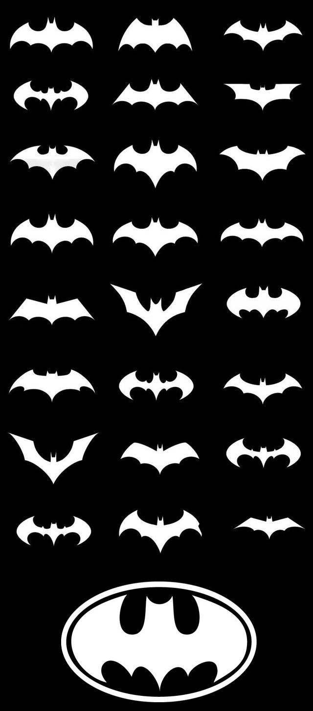 Pics photos batman logo evolution design for samsung galaxy case - Batman Tattoo Symbols Over The Years