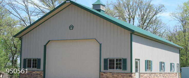 42 Best Pole Barn Images On Pinterest Pole Barns Garage