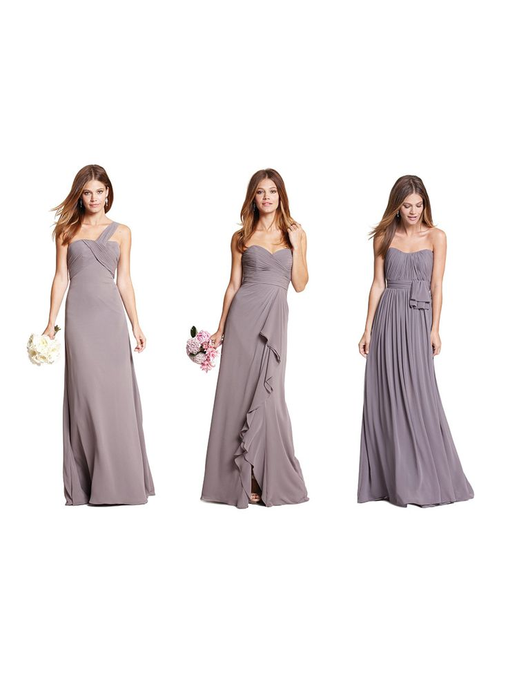 View entire slideshow: Mix & Match Bridesmaid Styles by Weddington Way on http://www.stylemepretty.com/collection/292/