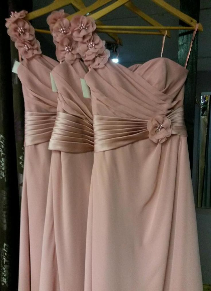 Dusky pink bridesmaid dresses bridesmaid dresses for Dusky pink wedding dress