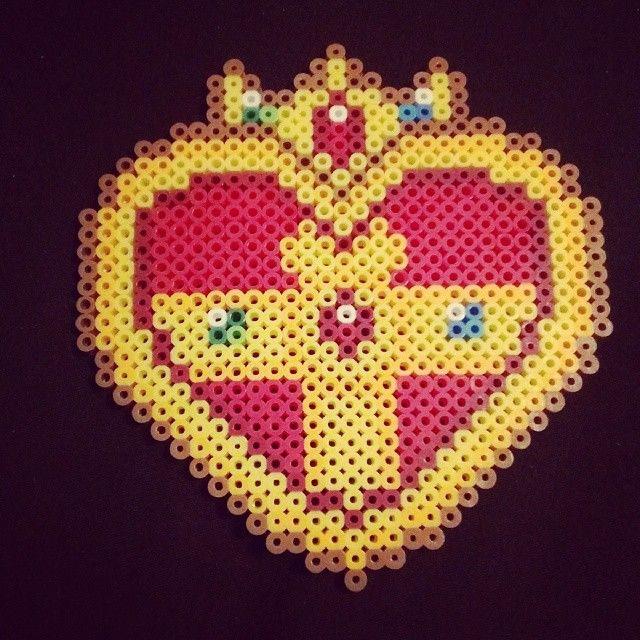 Sailor Moon perler beads by lolitalyssa