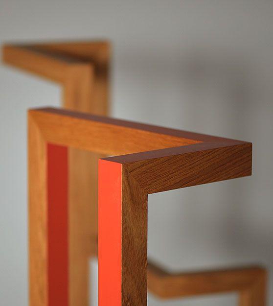 valet - oak - orange - details - furniture