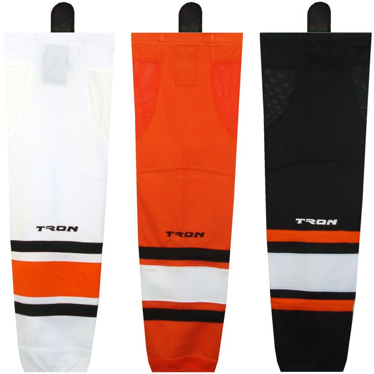 TronX SK100 Dry Fit Ice Hockey Socks Orange - 28 Inch