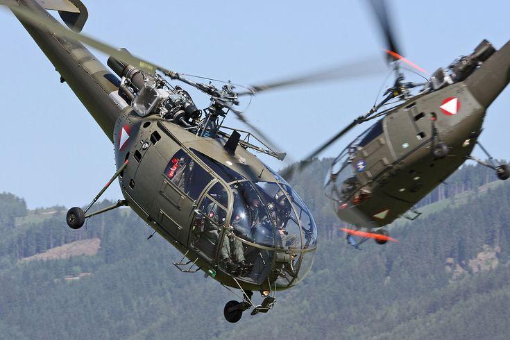Hélicoptères Alouette III