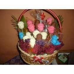 Rosales de chocolate