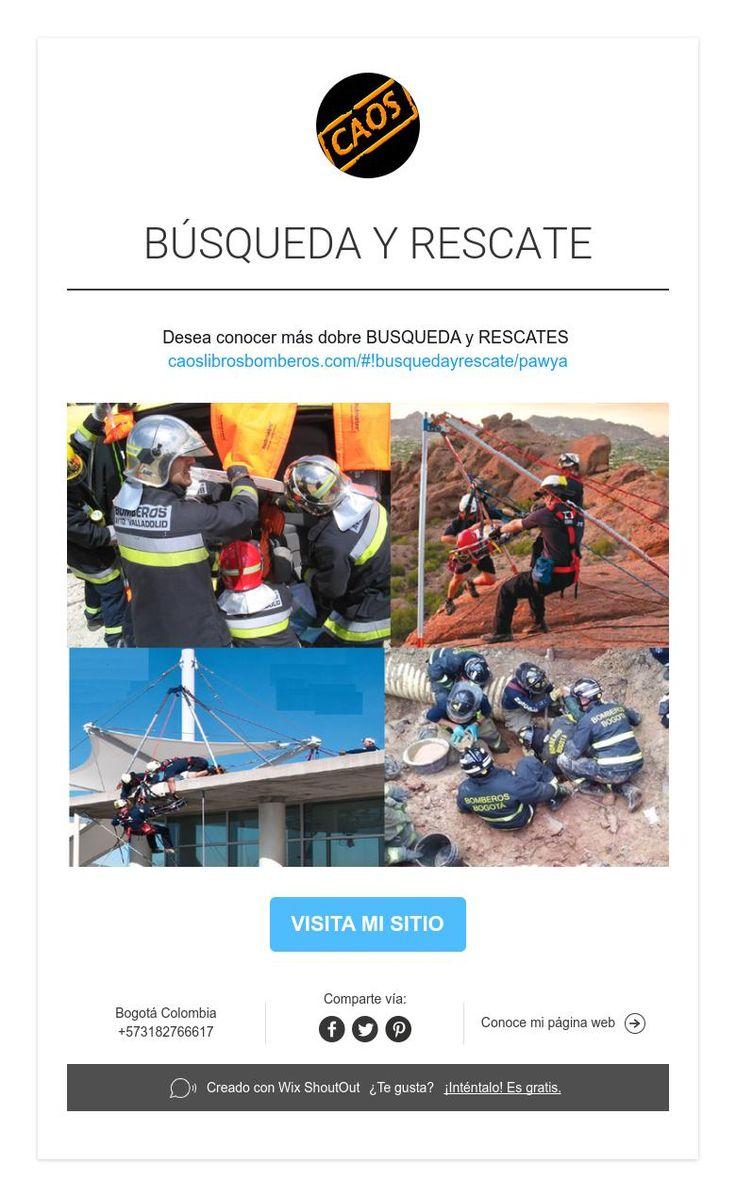 BÚSQUEDA Y RESCATE