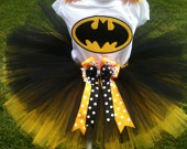 batman tutu set