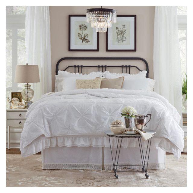 """Modern sleeping room"" by stela-ciko on Polyvore featuring interior, interiors, interior design, home, home decor, interior decorating and modern"