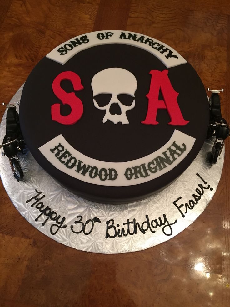 Sons of Anarchy Cake I made