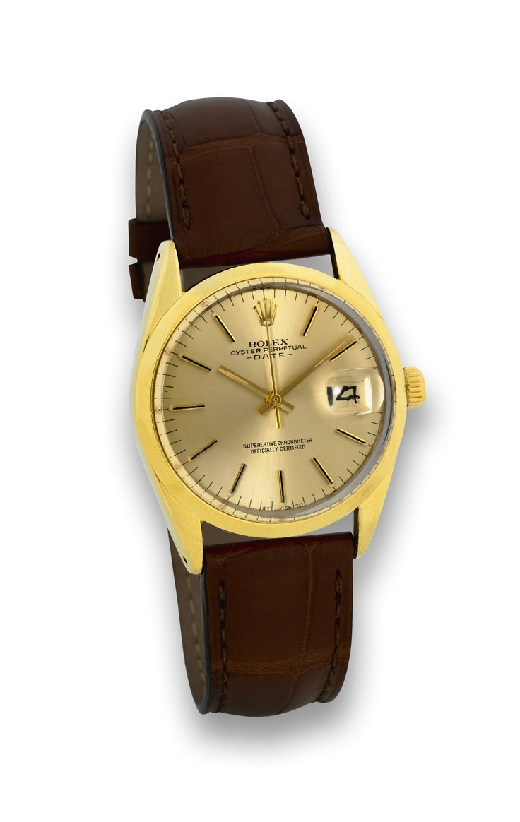 vintage rolex oyster perpetual date, ref. 1550 . -  Click picture for more info...