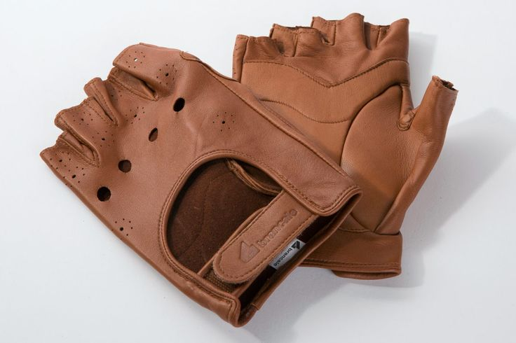 Brancale's Leather Cycling Gloves.