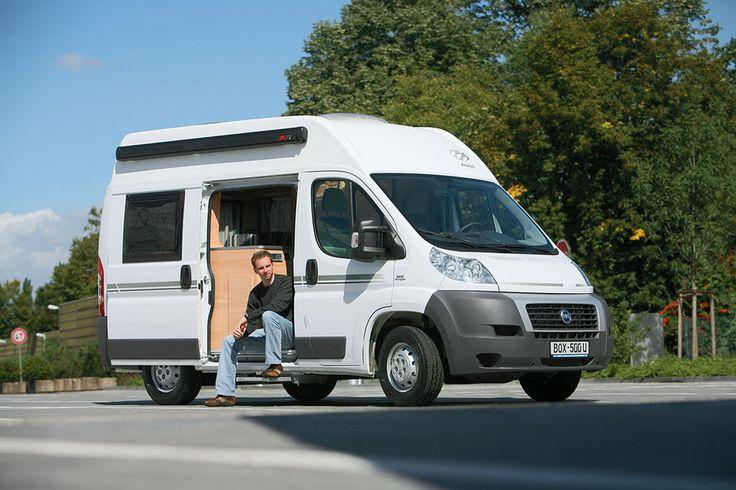 Camper Side View >> Knaus Boxstar City 500: Kompaktes Wohnmobil | Cities