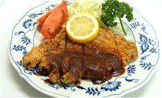 Pork Cutlets and tonkatsu sauce! Yummy!!!