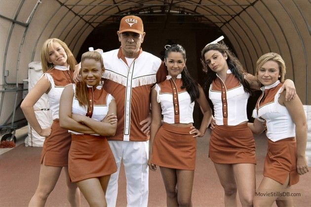 Man Of The House publicity still of Tommy Lee Jones, Vanessa Ferlito, Paula Garcés, Christina Milian, Monica Keena & Kelli Garner