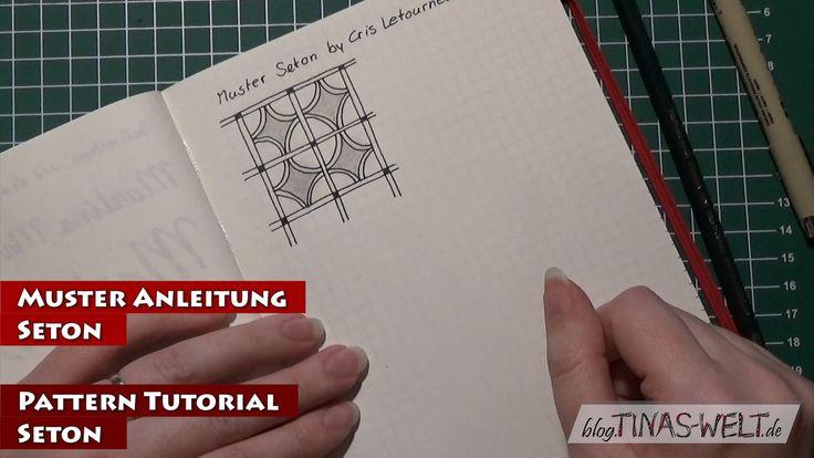 Wie zeichnet man das Muster Seton / How to draw the pattern Seton