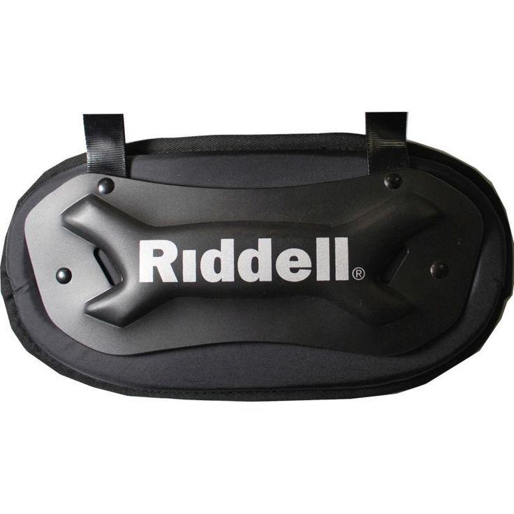 Riddell Adult Varsity Football Back Plate, Black