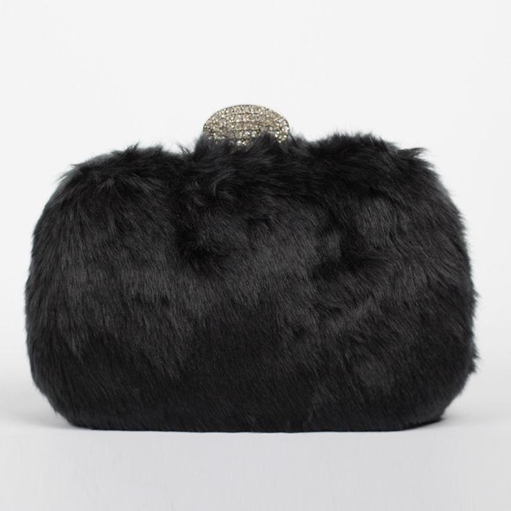Winter kaninchenfell Abendtasche Frauen Handtaschen Designer Leder adies Kupplung Bolsas Femininas Partei umhängetaschen //Price: $US $28.99 & FREE Shipping //     #clknetwork