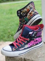Unique 1D One Direction Photo Toms / Vans Shoes : Fan Custom Valentines Day Gift