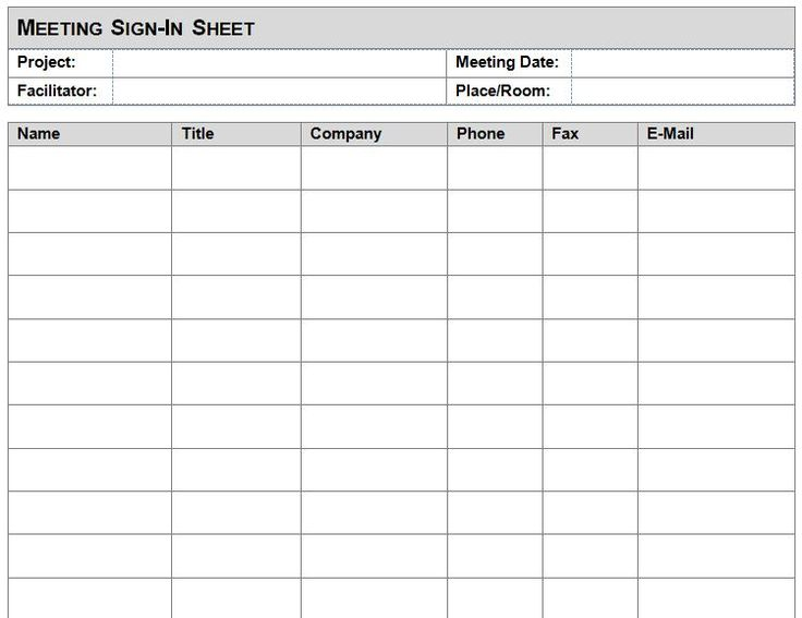 Attendance Sheet Template In Word Format u2013 Microsoft Office - sample project sheet