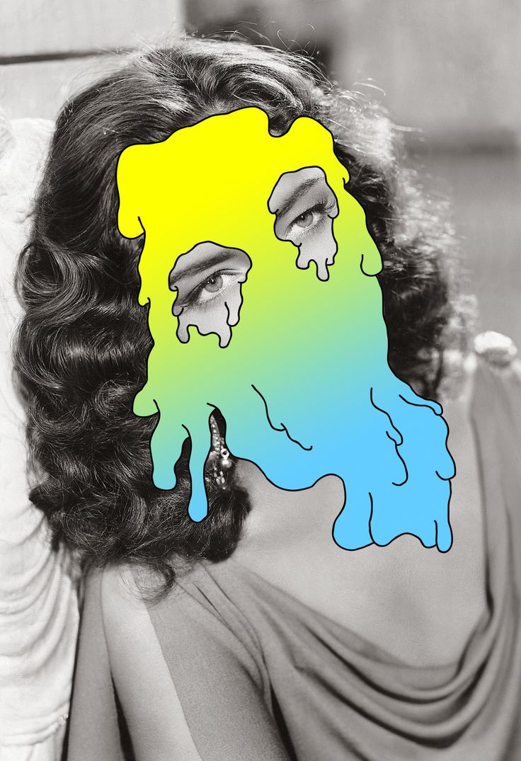 Tyler Spangler • #abstract #portrait #art #deformation #distortion #colors #design #face