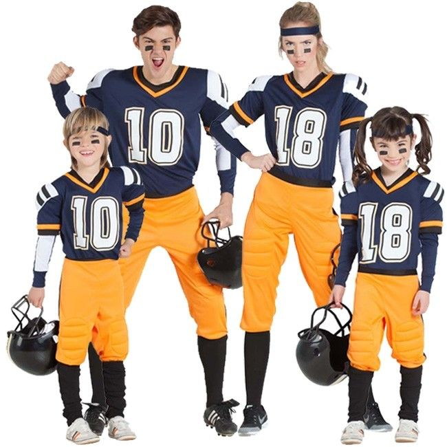 Grupo De Jugadores Fútbol Americano Nfl Disfraces Carnaval Disfracesparagrupos Disfraz Futbol Americano Futbol Americano Jugadores De Futbol Americano