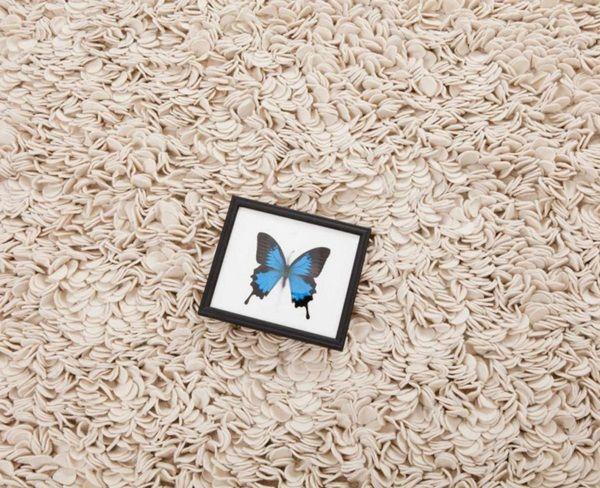 inspiracje w moim mieszkaniu: Ręcznie robione dywany z filcu / Handmade carpets ...