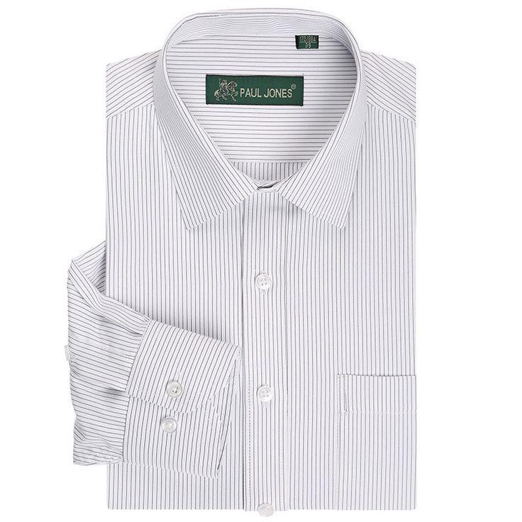 2013 Men's brand shirt Mens long sleeve dress shirt men Classic easy care business Formal shirts for men 17colors Big size XXXXL