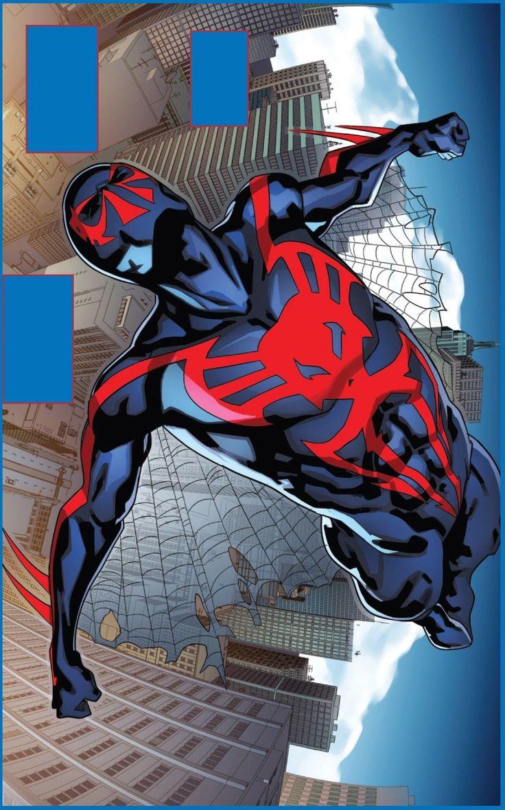 Spider-Man 2099 #2 interior art - Miguel O'Hara by Will Sliney *