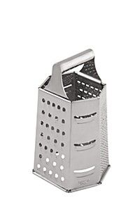 STAINLESS STEEL SIX SIDED GRATER -   R49-99