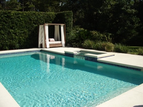 .: Outdoor Beds, Idea, Palm Beach, Dream, Cottage, Mallick Designs, Modern Pools