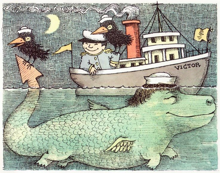 Hector Protector and As I Went Over the Water: Two Nursery Rhymes   Maurice Sendak ~ Harper Collins, 1965
