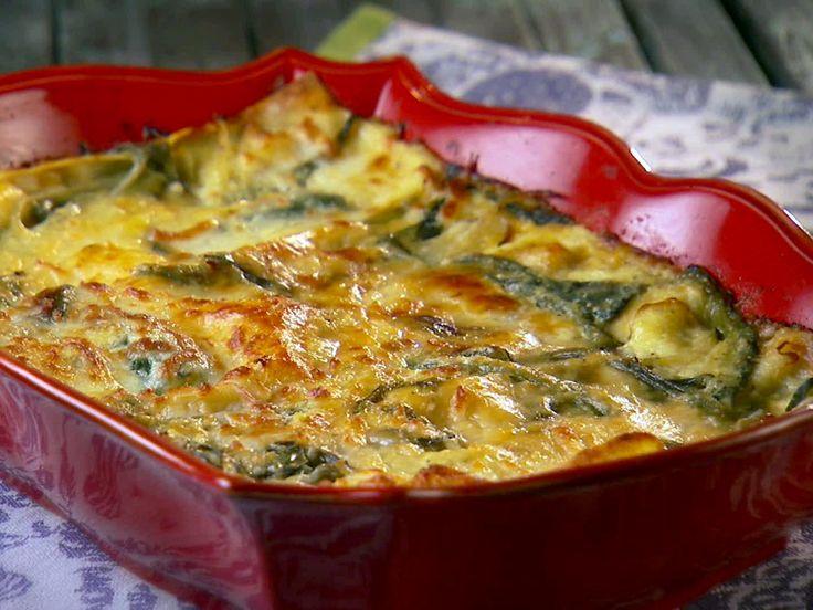 Corn and Poblano Lasagna Recipe : Marcela Valladolid : Food Network - FoodNetwork.com