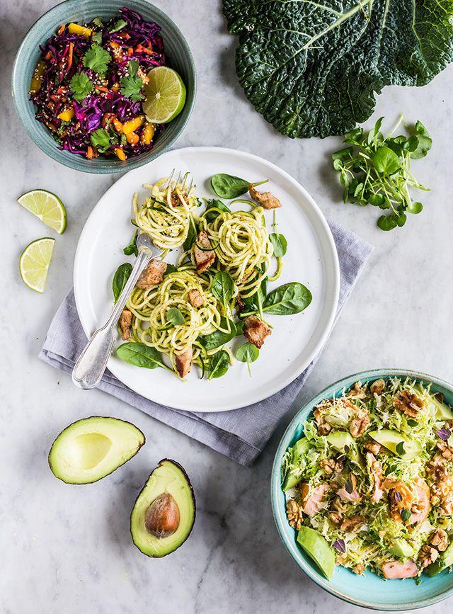 Sunde Salater - Grønne Måltider - The Food Club: