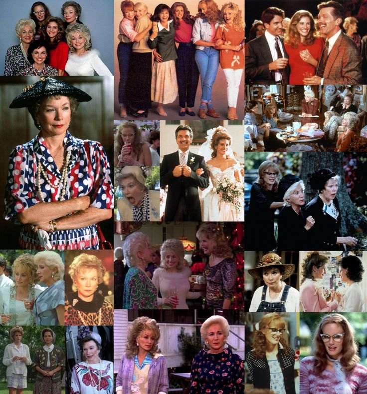 an analysis of the movie steel magnolias So it made sense to me that in steel magnolias, a film revolving around six small- town louisiana women who gather regularly at a local beauty.