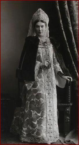1903 Russian Costume Ball