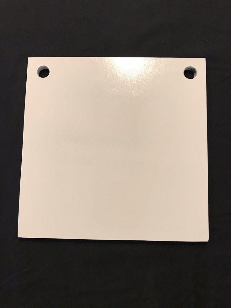 8in x 8in. - 3/8in thk. AR500 Steel Plate Shooting Targets 1 pc. Metal Target