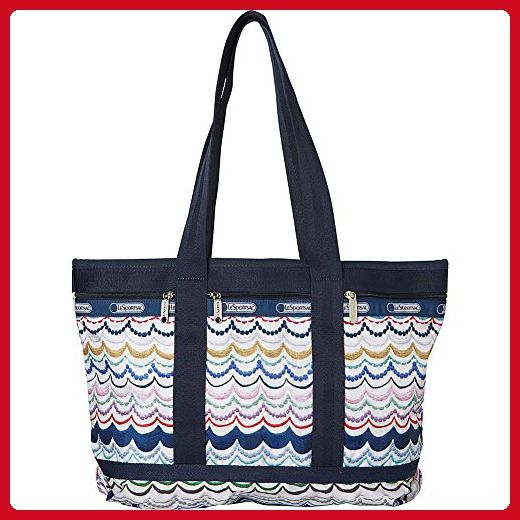 LeSportsac Medium Travel Tote Bag (Dimple Ribbon) - Shoulder bags (*Amazon Partner-Link)