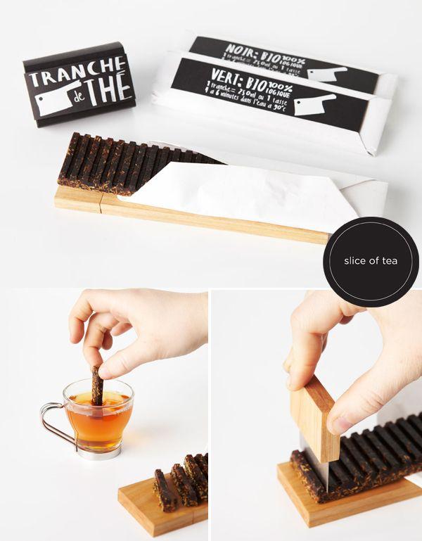 A Slice of Tea (Tranche de Thé), design by Anne Ouellette