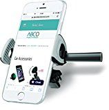 Car Air Vent Cell Phone Holder by Abcotech  - Universal Size can fit Even iPhone 6 Plus, 6S Plus - Best Car Phone Holder that offers Better Viewing Angles - Mounts on any Air Vent - Easy to Install