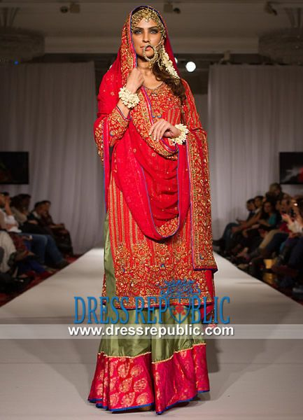 Buy Online Pakistani Bridal Dresses 2014 & Orange Bridal Outfits by Top Pakistani Fashion Designers. Original Quality. Affordable Prices. Pakistani Bridal Dresses 2014 | Orange Bridal Outfits