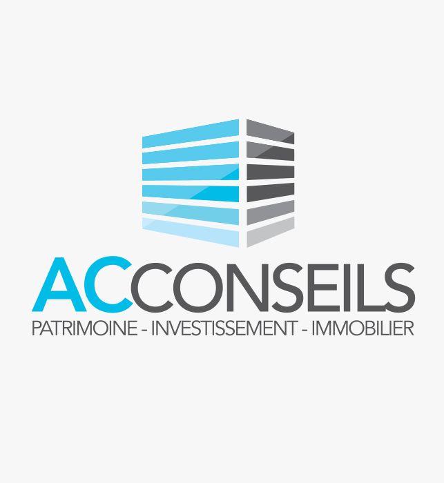 Création de la nouvelle identité de la société AC Conseils à Brignais.