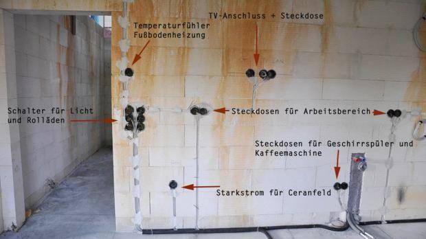 Standard-Kücheninstallation