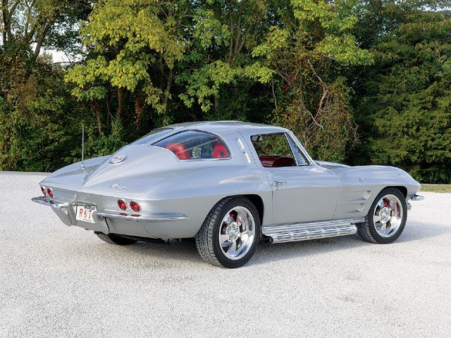 1963 corvette stingray split window 1 year only gear