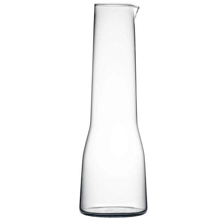 ESSENCE - Karaffen - Die Essence Trinkgläser-Serie wurde 2001 von Alfredo Häberli für den finnischen Design-Hersteller Iittala entworfen.
