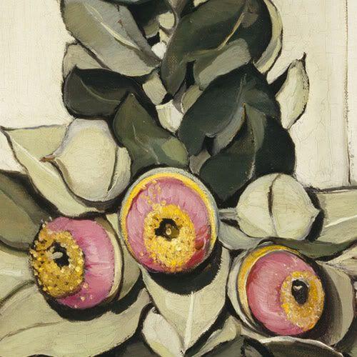 Margaret Preston - gumnuts, by gum!