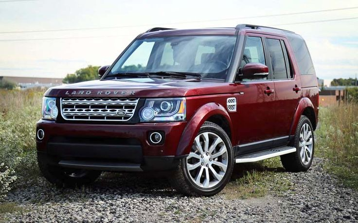 2018 Land Rover LR4 overview