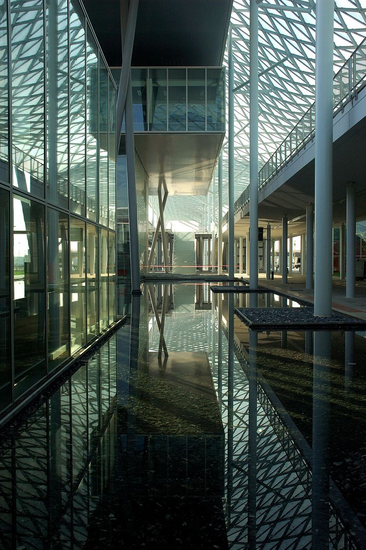 Built by Studio Fuksas in Milan, Italy © Studio Fuksas   In an effort to attract large-scale world-class conventions and exhibitions, the city of Milan emba...
