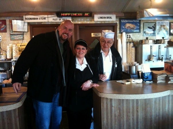 At THE diner from Good Fellas with original owners.
